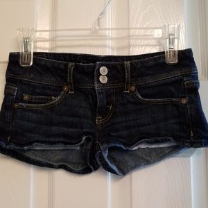 American Eagle outfitters stretch 00 denim shorts